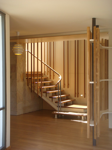 55B Prince Albert Street - Internal stair