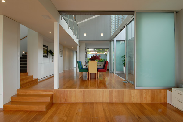 25 Medusa Street - Double-height space with formal dining