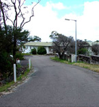 Georges Head Lookout - The intrusive barracks building that was demolished for the Lookout